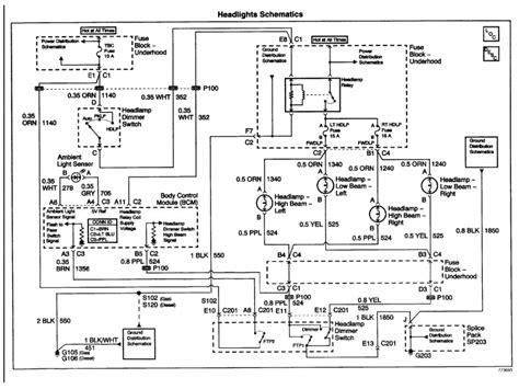 chevrolet silverado ignition wiring diagram wiring