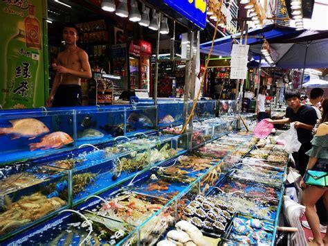 China's largest seafood wholesale wet market ...
