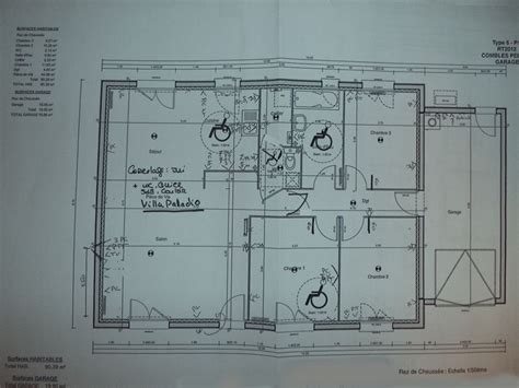 notre premi 232 re maison plain pied type 5 avec garage le masson rt 2012 seine maritime
