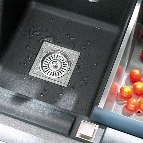 Kitchen Sink Basket Strainer Astracast Square Chrome 35