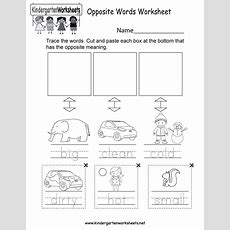 This Is An Opposite Words Worksheet You Can Download, Print, Or Use It Online English