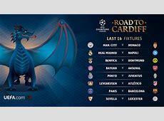 Calendario de octavos de la Champions League 2017