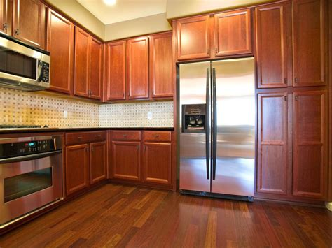 kitchen floor ideas with cabinets oak kitchen cabinets pictures ideas tips from hgtv hgtv