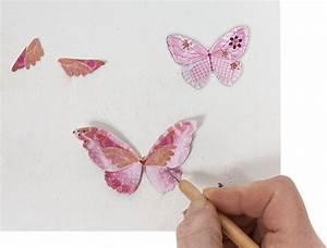 Schmetterlinge Basteln 3d : anleitung rosa vogelhaus mit schmetterlingsmotiven in 3d technik ~ Orissabook.com Haus und Dekorationen