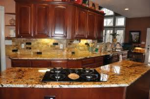 kitchen backsplash with granite countertops granite countertops and tile backsplash ideas eclectic kitchen indianapolis by supreme