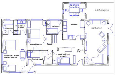 how to make blueprints for a house draw house plans smalltowndjs com