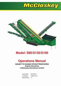 S Range Operations Manual Rev 11  En  By Mark