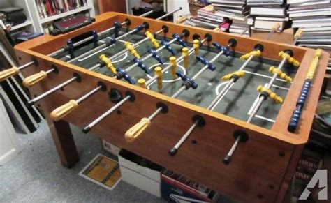 foosball table harvard brand excellent condition latatk