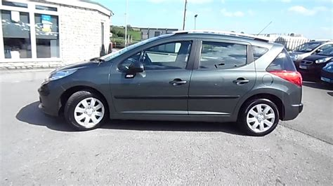 peugeot 105 for sale 2009 peugeot 207 sw 1 6 hdi s 30 tax estate for sale