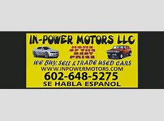 500 Down Used Cars Phoenix Buy Here Pay Here In Power