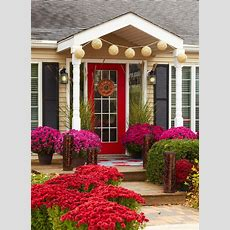 Fall Curb Appeal!  For The Home Pinterest
