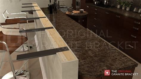 Kitchen Countertop Support Brackets by How To Install Countertop Support Brackets The Original