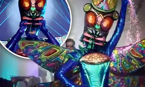masked singer australia fans   dragonfly