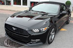 Used 2016 Ford Mustang convertible 3.7L V6, Convertible - Auto * 105$ /semaine * Black for Sale ...