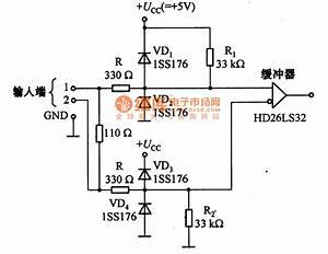 Eia-422-a Input Protection Circuit Diagram