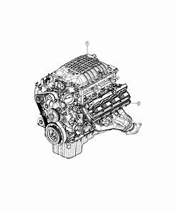 2019 Dodge Charger Engine  Long Block