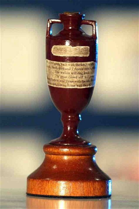 the ashes trophies trash talk and technology