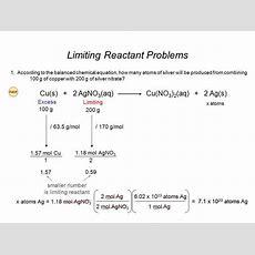 Limiting Reactants Worksheet Homeschooldressagecom
