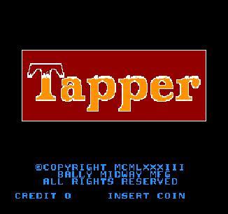 tapper video game wikipedia