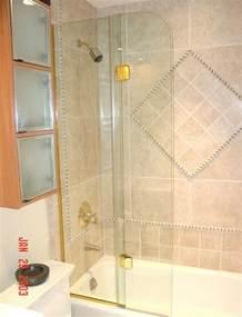 Hinged Glass Shower Doors by Bi Fold Shower Doors In Fl