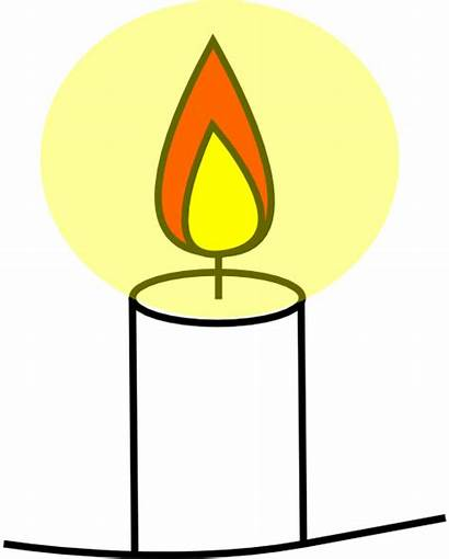 Candle Clip Clipart Clker Cliparts