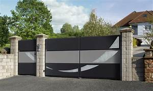 Portail En Aluminium : toledo fermetures portail ~ Melissatoandfro.com Idées de Décoration