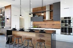 Armoires de cuisine moderne lustres en acrylux for Idee deco cuisine avec armoire design scandinave