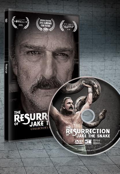 resurrection  jake  snake standard dvd collectors