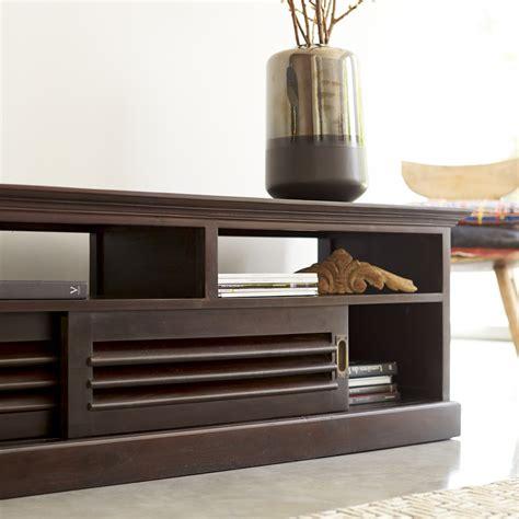 canap de couleur meuble tv en acajou meubles hi fi modele coline sur tikamoon