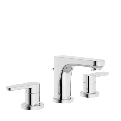 symmons faucets home depot symmons identity 8 in widespread 2 handle bathroom faucet