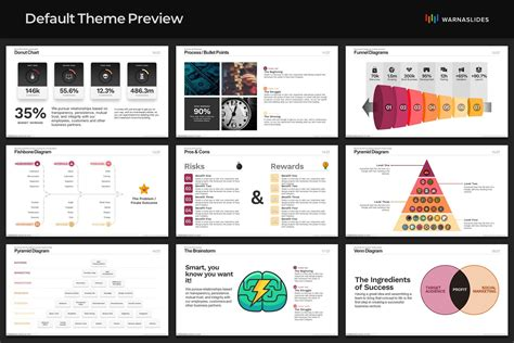 wannabe powerpoint template warna