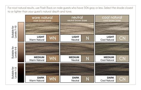 Paul Mitchell Flash Back 10 Minute Color For Men