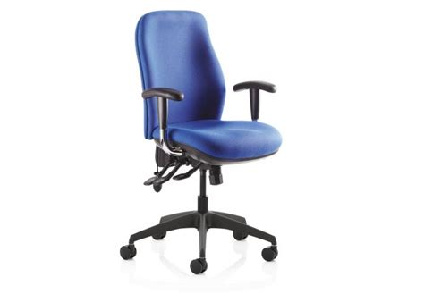 Physio Office Chair by Re Act Deluxe High Back Ergonomic Operator Office Chair