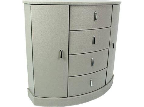 achat bureau lyon petit meuble d 39 appoint aspect cuir en demi lune meuble