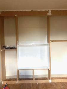 Comment Fabriquer Un Dressing : diy un mur de placards la clamartoise ~ Melissatoandfro.com Idées de Décoration