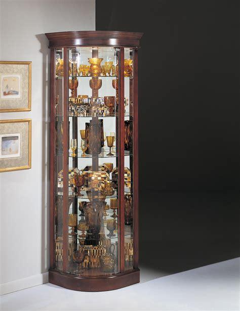 furniture stunning corner curio cabinet  home