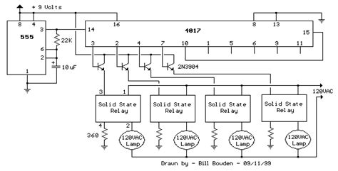 Vac Lamp Chaser Circuit Diagram Instructions