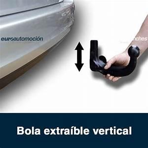 Enganche De Remolque Extra U00edble Vertical Para Fiat Panda No