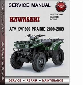 Kawasaki Atv Kvf360 Prairie 2000