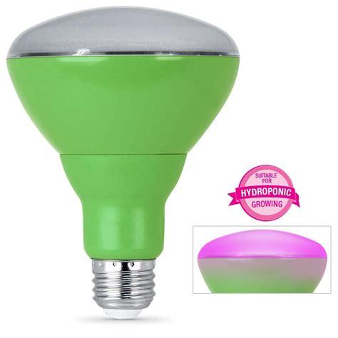 spectrum light home depot feit electric 65w equivalent br30 spectrum led plant