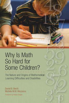 math  hard   children  daniel  berch