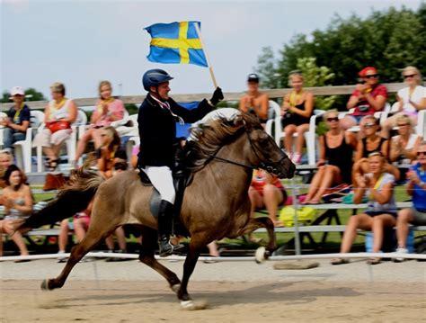 Ísar frá Keldudal – silvermedaljör i A-flokk. Och Vala