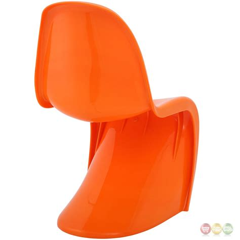 slither modernistic molded plastic quot s quot shaped dining side
