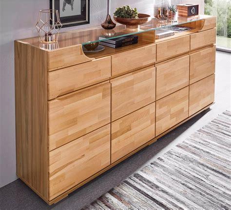 sideboard kernbuche 100 cm sideboard breite 200 cm 4 schubk 228 sten kaufen otto