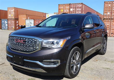 gmc acadia denali high price  denali trim means