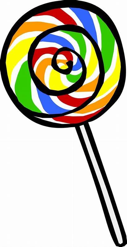 Lollipop Candy Clipart Penguin Club Transparent Lolipop