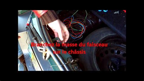 montage du faisceau dattelage voiture  relais matic