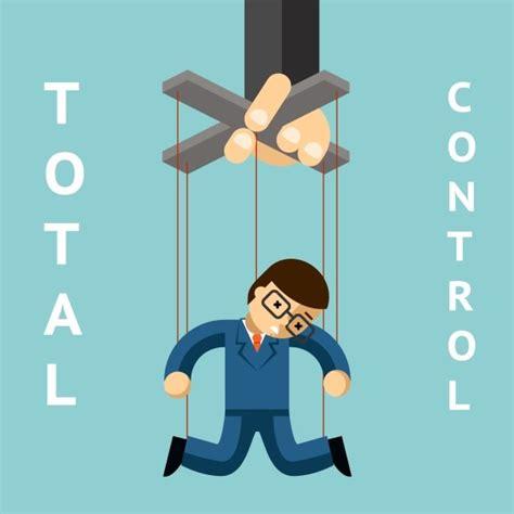 total control businessman puppet graphics creative market
