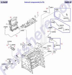 Rm1-6338-000cn Hp Laser  Scanner Assembly -
