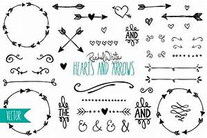 Hearts & Arrows - Vector & PNG ~ Illustrations ~ Creative ...